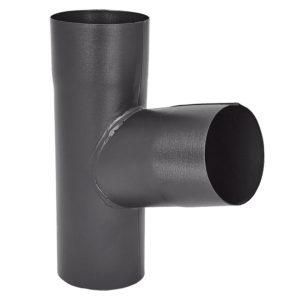 Тройник трубы Aquasystem серый RR23 PURAL MATT