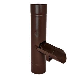 Водосборник Aquasystem коричневый RAL8017 PURAL MATT