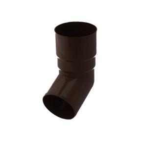 Колено трубы Gamrat коричневый