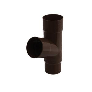 Тройник трубы Gamrat коричневый