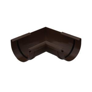 Угол желоба 90° внутренний Gamrat коричневый