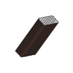 Труба водосточная МП Модерн 3 метра коричневый