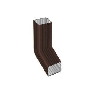 Колено трубы МП Модерн коричневый