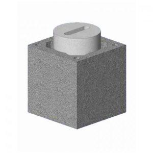 Комплект блок-опора Schiedel UNI одноходовой без вентиляции