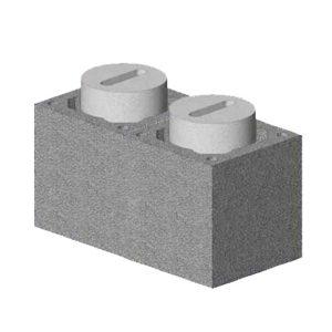 Комплект блок-опора Schiedel UNI двухходовой