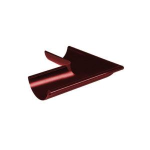 Угол желоба наружный 90° МП Престиж вишня RAL3005