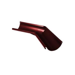 Угол желоба внутренний 135° МП Престиж вишня RAL3005