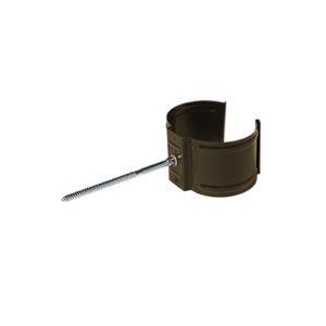 Держатель трубы (на кирпич) МП Престиж темно-коричневый RR32