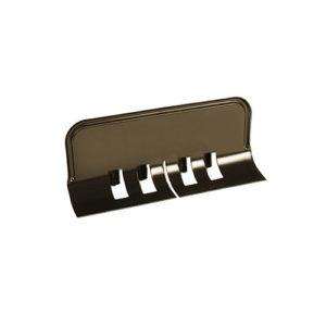 Ограничитель перелива универсальный МП Престиж темно-коричневый RR32