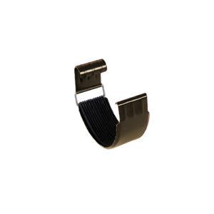 Соединитель желоба МП Престиж темно-коричневый RR32