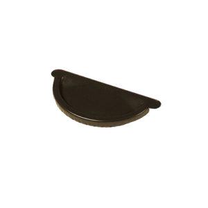 Заглушка желоба МП Престиж темно-коричневый RR32