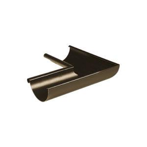 Угол желоба внутренний 90° МП Престиж темно-коричневый RR32