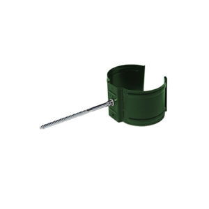 Держатель трубы (на кирпич) МП Престиж зеленый RAL6005
