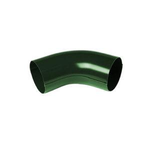 Колено трубы 60° МП Престиж зеленый RAL6005