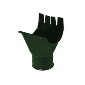 Воронка выпускная МП Престиж зеленый RAL6005