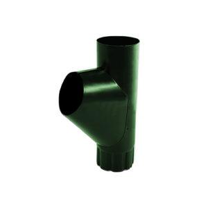 Тройник трубы МП Престиж зеленый RAL6005