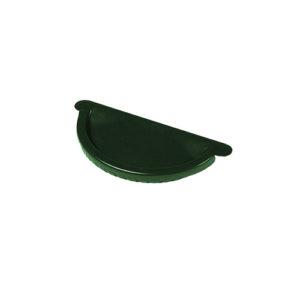 Заглушка желоба МП Престиж зеленый RAL6005