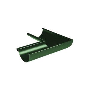 Угол желоба внутренний 90° МП Престиж зеленый RAL6005