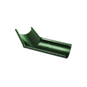 Угол желоба наружный 135° МП Престиж зеленый RAL6005