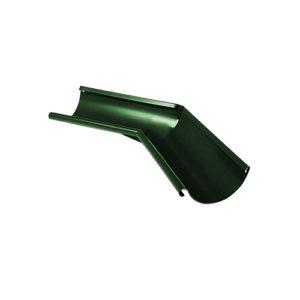 Угол желоба внутренний 135° МП Престиж зеленый RAL6005