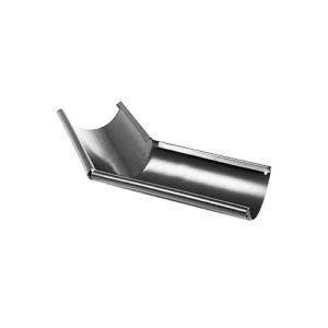 Угол желоба наружный 135° МП Престиж серый RAL7024