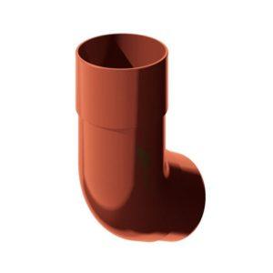 Колено трубы Verat Технониколь красный