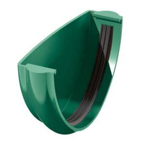 Заглушка желоба Verat Технониколь зеленый
