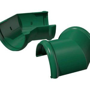 Угол желоба 135° универсальный Verat Технониколь зеленый