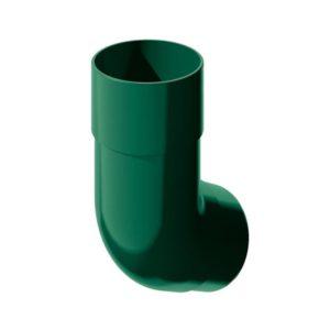 Колено трубы Verat Технониколь зеленый