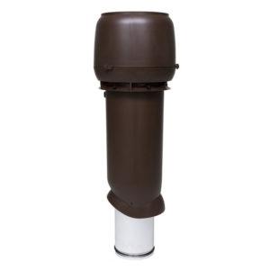 Вентиляционный выход утепленный 160/ИЗ/700 vilpe коричневый