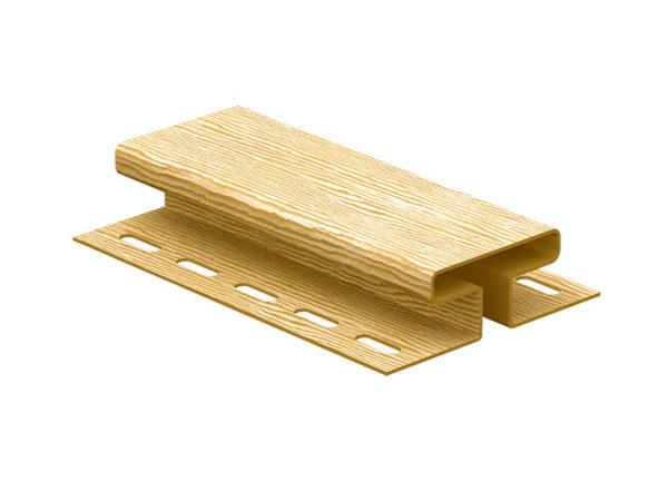 Ю-Пласт соединительная планка серия Timberblock дуб золотой
