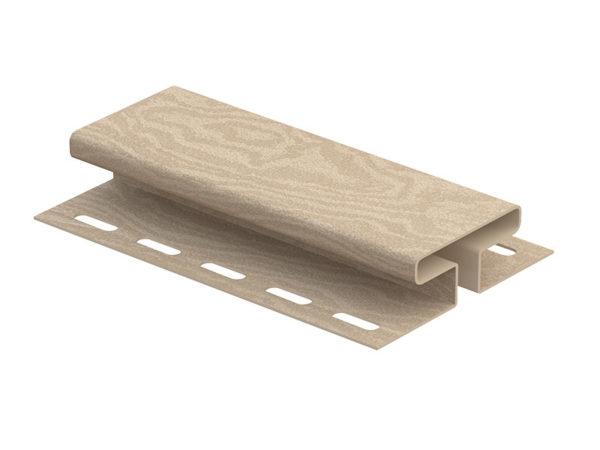Ю-Пласт соединительная планка серия Timberblock кедр светлый