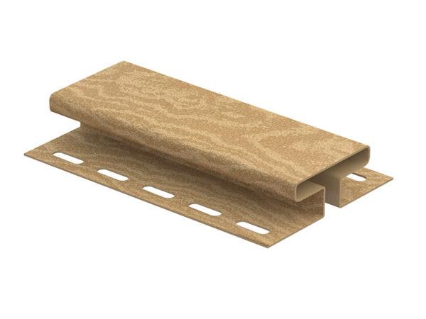 Ю-Пласт соединительная планка серия Timberblock кедр янтарный