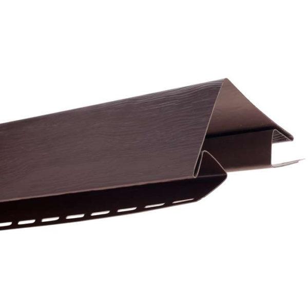 Наружный угол Альта Профиль Блок Хаус коричневый