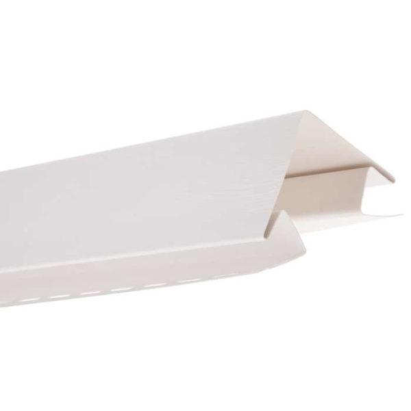 Наружный угол Альта Профиль Блок Хаус белый