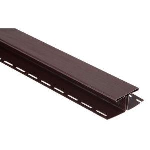 Планка соединительная Альта Профиль Блок Хаус коричневый