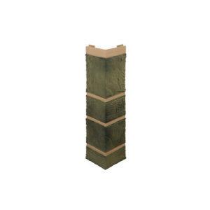Фасадные углы Альта Профиль Камень малахит