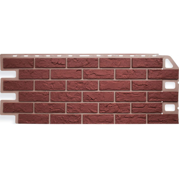 Фасадные панели Альта Профиль Кирпич красный