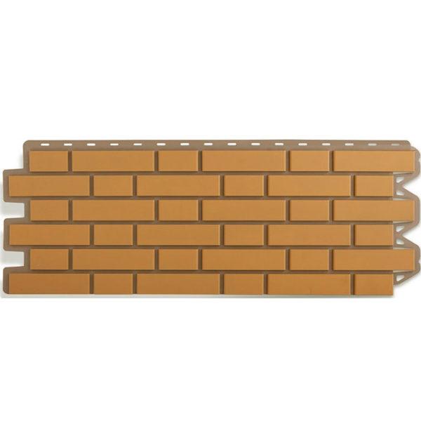Фасадные панели Альта Профиль Кирпич клинкерный желтый