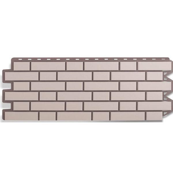 Фасадные панели Альта Профиль Кирпич клинкерный белый