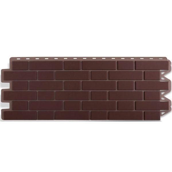 Фасадные панели Альта Профиль Кирпич клинкерный коричневый