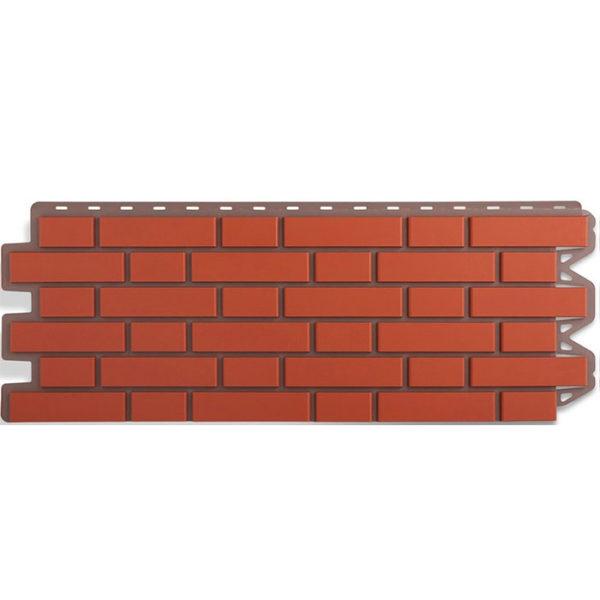 Фасадные панели Альта Профиль Кирпич клинкерный красный