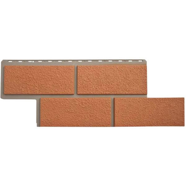 Фасадные панели Альта Профиль Неаполитанский камень терракотовый