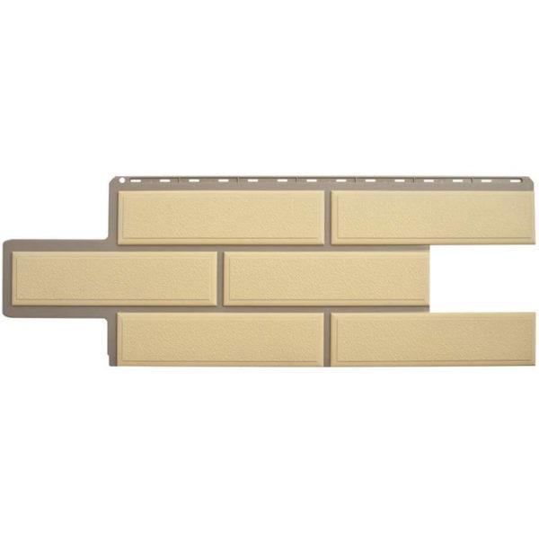 Фасадные панели Альта Профиль Венецианский камень песочный