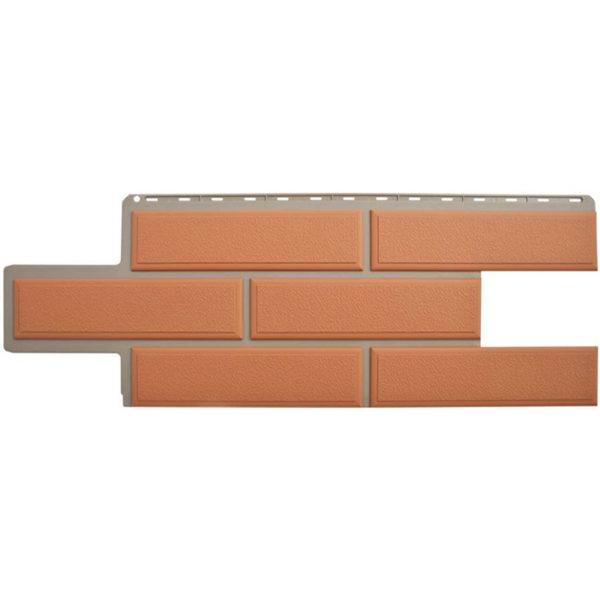 Фасадные панели Альта Профиль Венецианский камень терракотовый