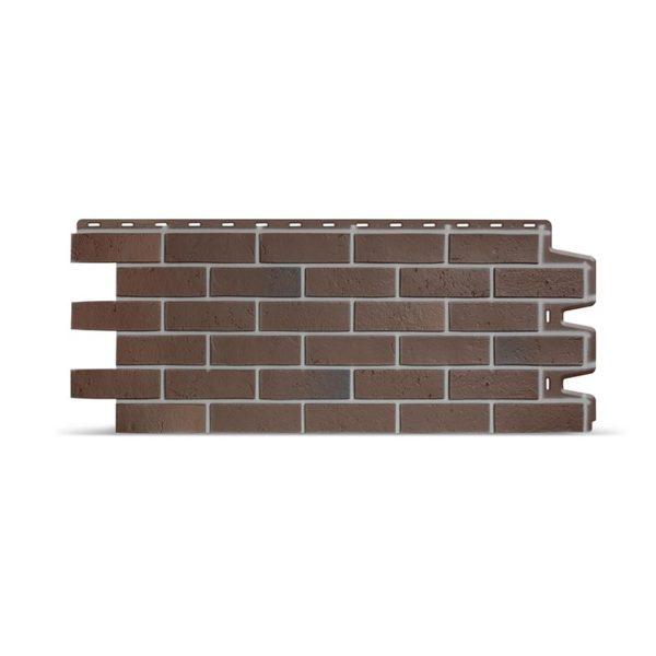 Фасадные панели Döcke Berg кирпич коричневый