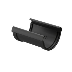 Соединитель желобов Docke Lux графит Ø141/100 мм
