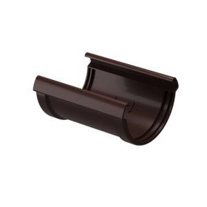 Соединитель желобов Docke Lux шоколад Ø141/100 мм