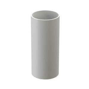 Труба водосточная Docke Premium 3 метра пломбир Ø120/85 мм