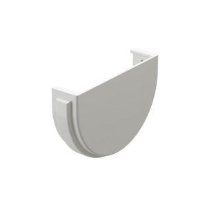 Заглушка желоба Docke Premium пломбир Ø120/85 мм